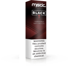 Black Traditional Disposable – Mistic