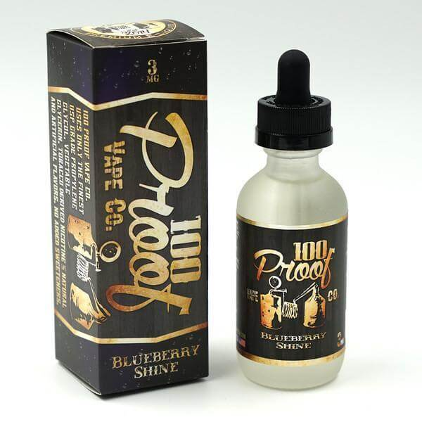 Blueberry Shine - 100 Proof Vape Co E Liquid