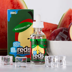 Watermelon Reds Apple Ice - Vape 7 Daze E Liquid