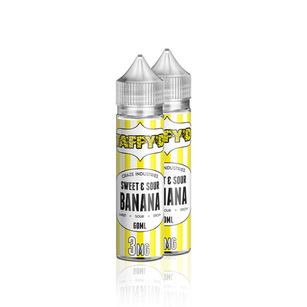 Sweet and Sour Banana Taffy - Taffy'd E Liquid