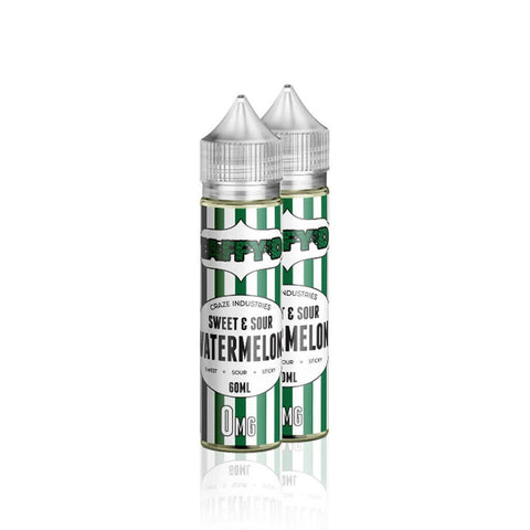 Sweet and Sour Watermelon Taffy  - Taffy'd E Liquid