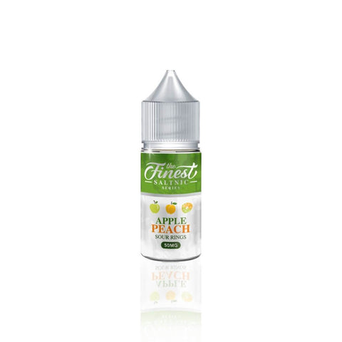 Apple Peach Sour Rings - The Finest Salt E Liquid