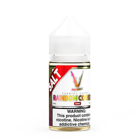 Rainbow Cookies - Verdict Vapors Salt E Liquid
