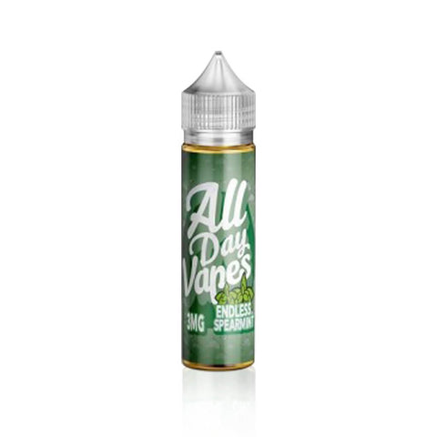 Endless Spearmint - All Day Vapes E Liquid
