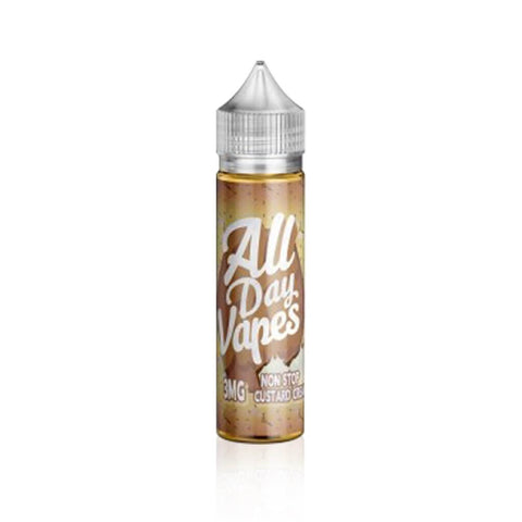 Non Stop Custard - All Day Vapes E Liquid