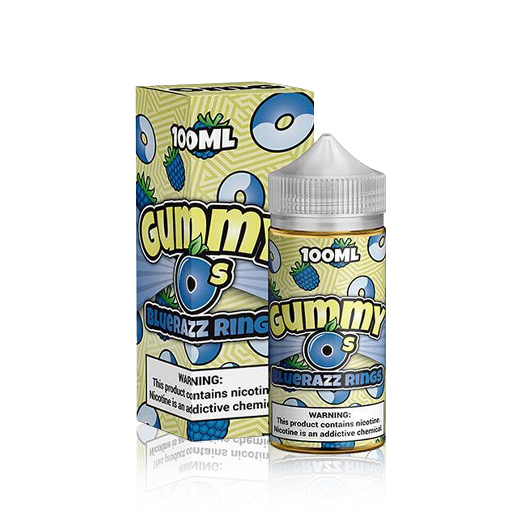 Bluerazz Rings - Gummy O's E Liquid