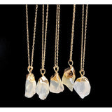 Druzy Quartz NecklaceJewelryLuna Daze