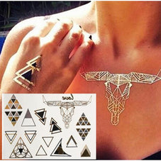 Sacred Geometry Flash TatsAccessoriesLuna Daze