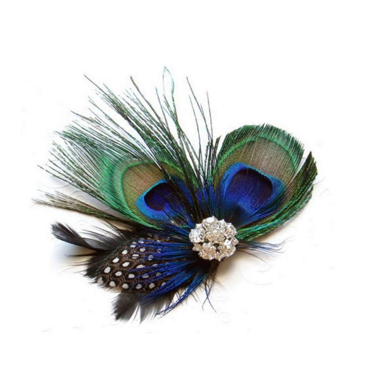 Peacock Hair ClipAccessoriesLuna Daze