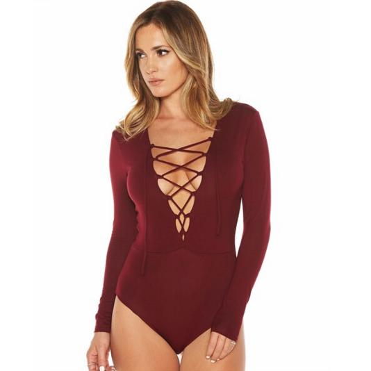 Lace-up BodysuitBodysuitLuna Daze
