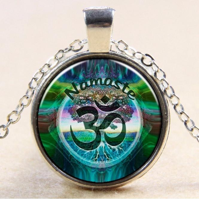 Aum Locket NecklaceJewelryLuna Daze