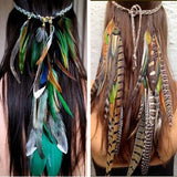 Feather HeaddressAccessoriesLuna Daze