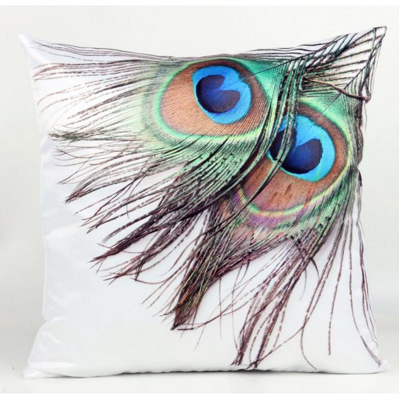 Peacock Feathers PillowcaseInteriorLuna Daze