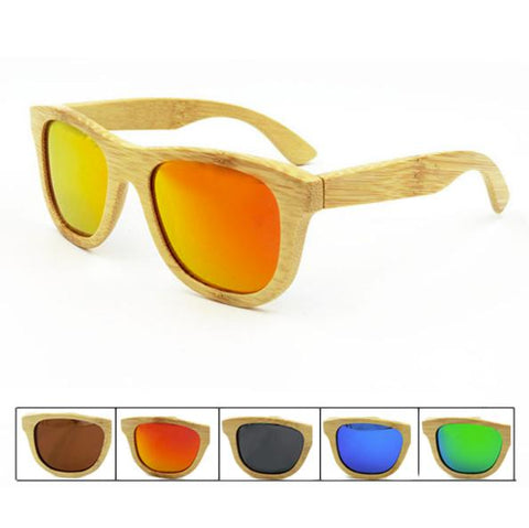 Natural Bamboo SunglassesAccessoriesLuna Daze