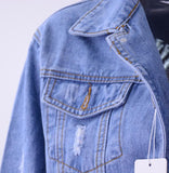 Take It Easy Denim JacketLuna Daze