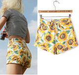 Flower Child Denim Shorts, Luna Daze
