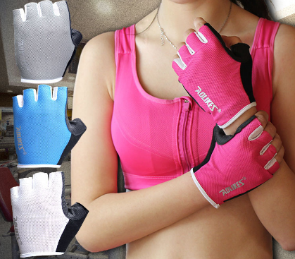 Unisex Breathable Gym Gloves