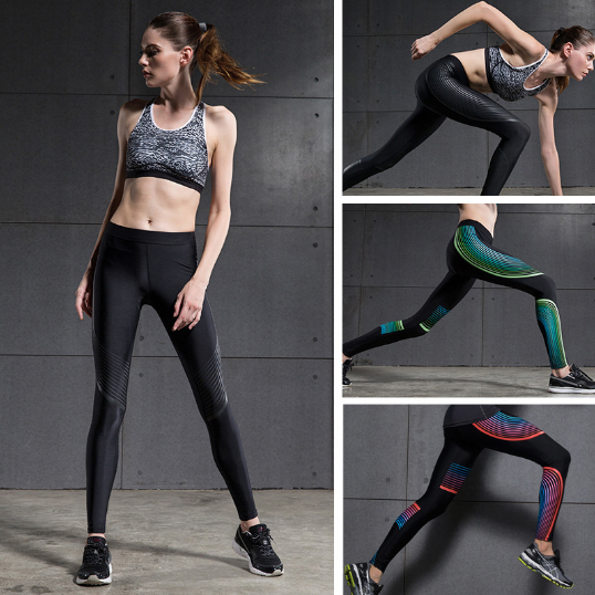 Energetic Workout Leggings, Luna Daze