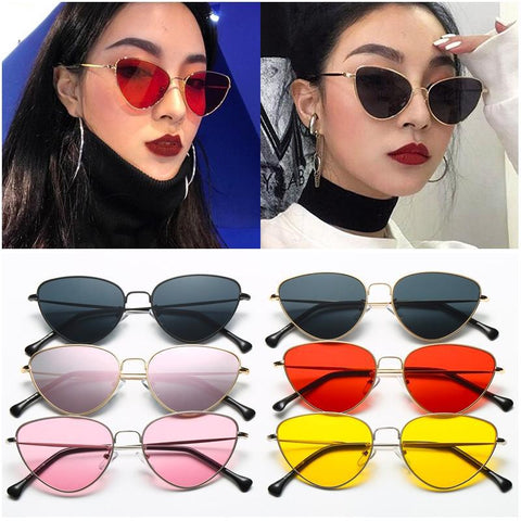Tinted Luxe Cat Eye Sunglasses