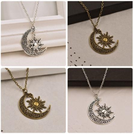 Night and Day Charm Necklace