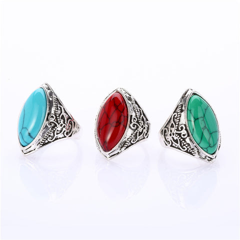 Bohemian 2pc Ring Set