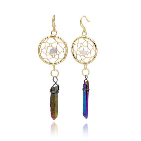 Crystal Quartz Dream Earrings
