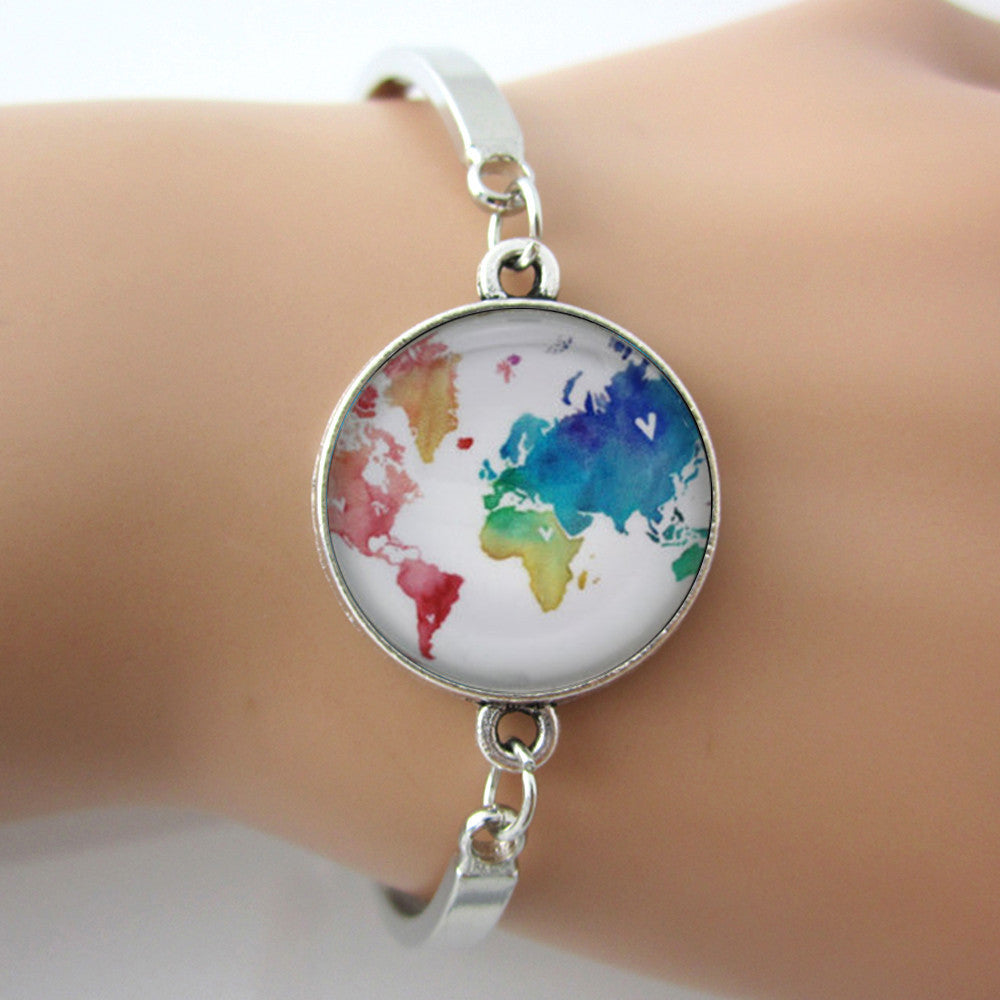 Watercolor World BraceletJewelryLuna Daze