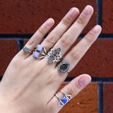 Wild & Stoned Ring Set
