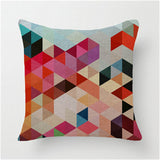 Geometric Colors PillowcaseInteriorLuna Daze
