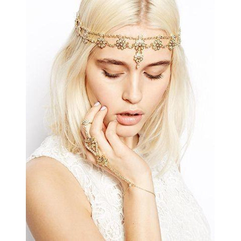 Bridal Beauty HeadpieceAccessoriesLuna Daze