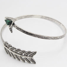 Malachite Arrow CuffJewelryLuna Daze
