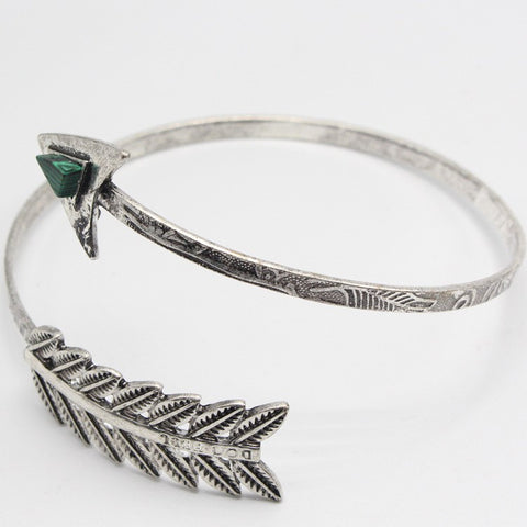 Malachite Arrow Cuff
