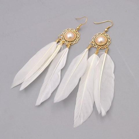 Pearly White EarringsJewelryLuna Daze