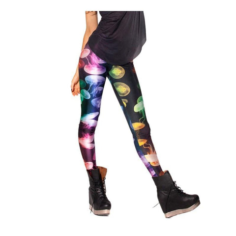 Neon JellyFish Leggings