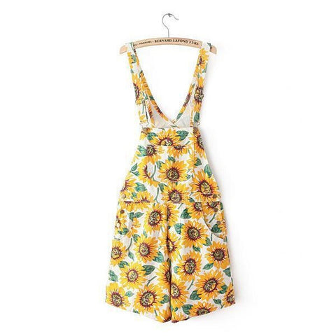 Sunflower Overalls - Luna Daze