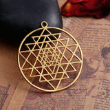 Sacred Geometry NecklaceJewelryLuna Daze