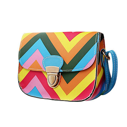 Groovy Striped Purse