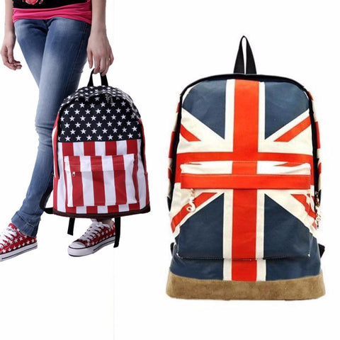 Canvas Flag Backpack