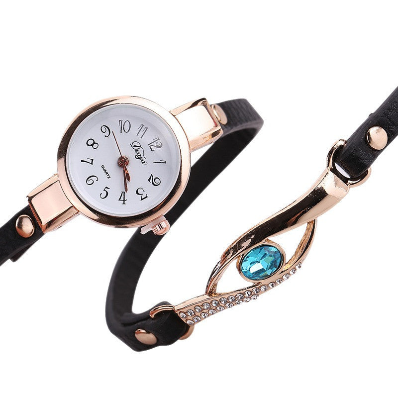 Leather Wrap WatchJewelryLuna Daze