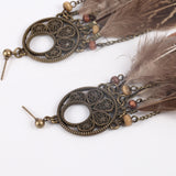 Native Feather EarringsJewelryLuna Daze