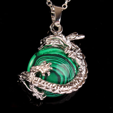Eye of the Dragon Necklace