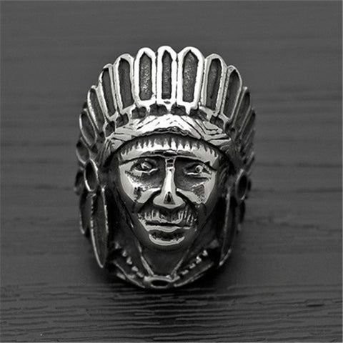 Indian Chief Ring - Luna Daze