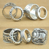Lucky Elephant Ring Set
