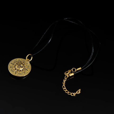 Ancient Zodiac Necklace, Luna Daze