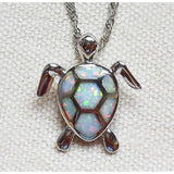 Opal Sea Turtle NecklaceJewelryLuna Daze