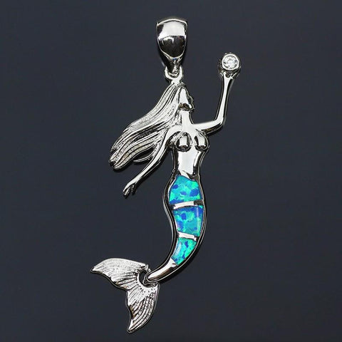 Goddess of The Sea Opal NecklaceJewelryLuna Daze