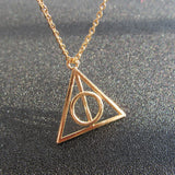 Luna Triangle Necklace - Luna Daze