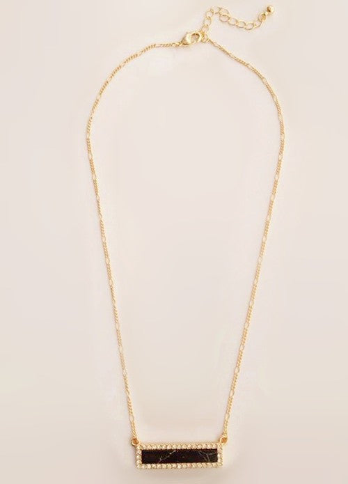 Delicate Bar NecklaceJewelryLuna Daze