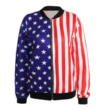 Flag Me Down Zipper Jacket, Luna Daze
