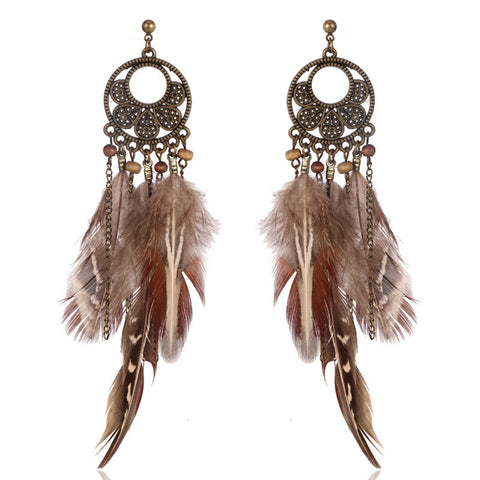 Native Feather Earrings